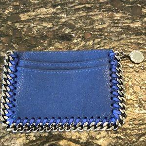 Stella McCartney Shaggy Deer Card Case- Bluebird